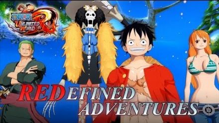 Vid�o : One Piece Unlimited World Red trailer
