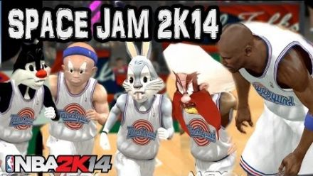 Vid�o : NBA 2K14 - Mod Space Jam