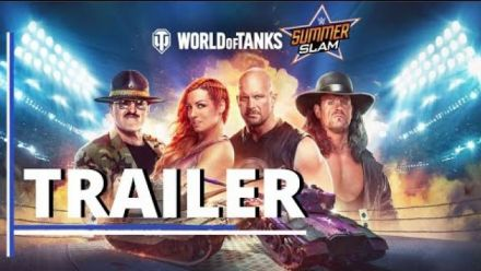 Vid�o : World of Tanks : Bande-annonce crossover WWE