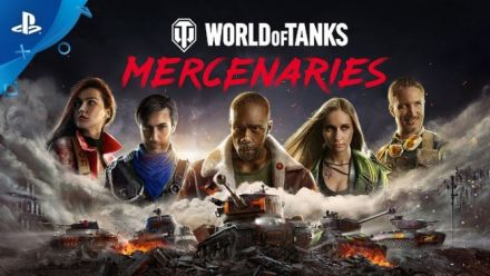 Vidéo : World of Tanks: Mercenaries Teaser