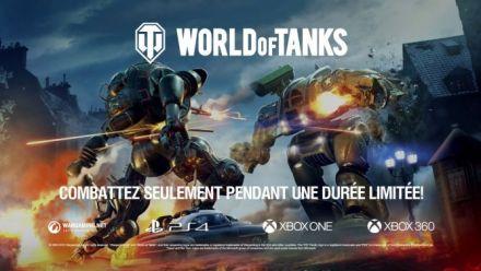 Vidéo : World of Tanks: Mercenaries | Core Breach Mode