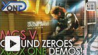 vidéo : Metal Gear Solid V - Xbox One