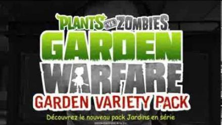 Plants Vs. Zombies : Jardins en Série