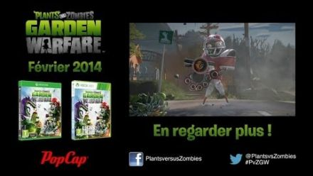 Plants Vs. Zombies Garden Warfare : Zomboss Down Trailer
