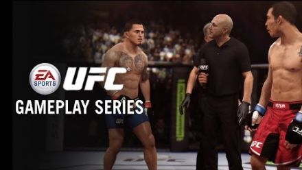 vidéo : EA Sports UFC - Gameplay : Jose Aldo vs Anthony Pettis