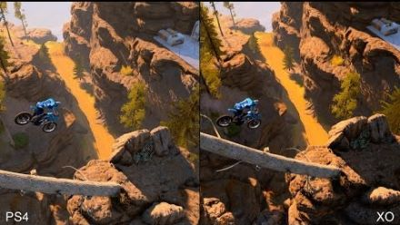 vidéo : Trials Fusion - Comparatif PS4 / Xbox One Digital Foundry