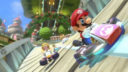 Mario Kart 8 : DLC Mercedes Trailer