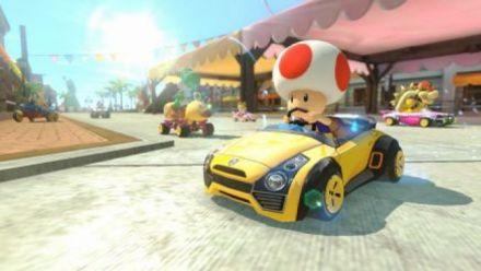 vidéo : Mario Kart 8 - menu contre la montre