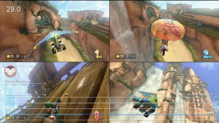 Mario Kart 8 - Digital Foundry analyse le multijoueur
