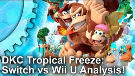 Vid�o : Donkey Kong Tropical Freeze : Comparatif Digital Foundry