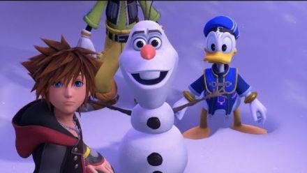 Kingdom Hearts III : Reine des Neiges Trailer