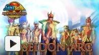 vid�o : Saint Seiya Brave Soldiers : trailer chapitre Poséidon