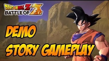 vid�o : Dragon Ball Z Battle of Z : gameplay