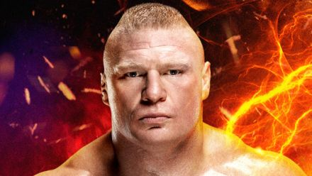 wwe 2K17 : Brock Lesnar cover reveal trailer