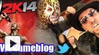 vidéo : LIVE REPLAY WWE 2K14 avec Tiger et Plume