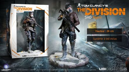 Vidéo : The Division : Figurine Shield Trailer