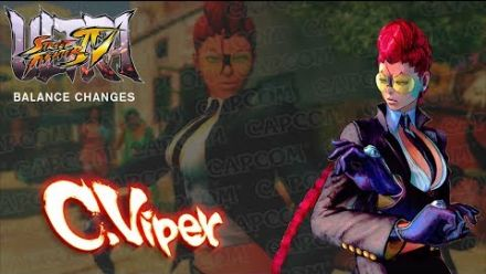 vid�o : Ultra Street Fighter IV : Viper, les changements