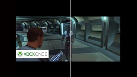 Vid�o : Star Wars Knight of the Old Republic : Comparatif rétrocompatibilité sur Xbox One S