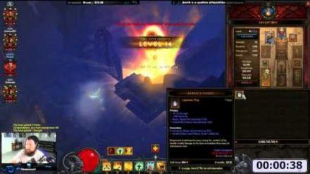 Vid�o : Diablo III : Niveau 1-70 en une minute