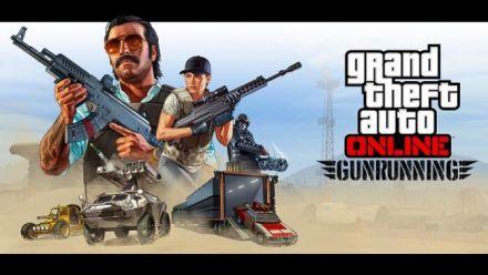 GTA online : Gunrunning Trailer