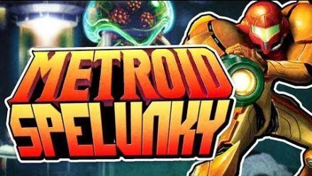 Vidéo : Spelunky mod Metroid