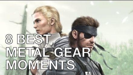 Les 8 scènes cultes de Metal Gear selon Hideo Kojima