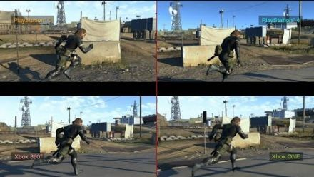vid�o : Metal Gear Solid V : Ground Zeroes - Comparatif