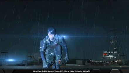 Metal Gear Solid V Ground Zeroes - Play as Hideo Kojima