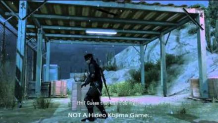 Vid�o : [SPOILERS] MGS V: Did Kojima try to warn us?
