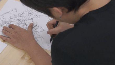 vidéo : Tetsuya Nomura dessine Sora