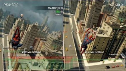 Vid�o : Amazing Spider-Man 2 PS4 vs Xbox One