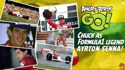 Vid�o : Angry Birds Go : Ayrton Senna en DLC