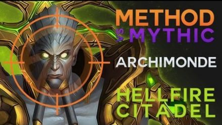 Vidéo : Method vs Archimonde Mythic World First