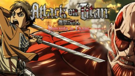Vid�o : Attack on Titan (L'Attaque des Titans) Humanity in Chains sur 3DS - trailer de lancement
