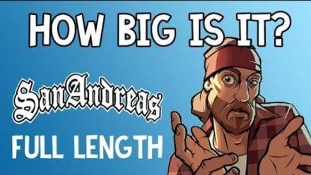 Vidéo : Il traverse la map de GTA San Andreas à pieds