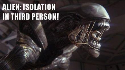Vid�o : Alien Isolation : voici ce qu'aurait donné la vue à la troisième personne
