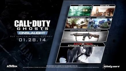 Vid�o : Call of Duty Ghosts - Onslaught DLC Trailer