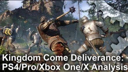 Vid�o : Kingdom Come Deliverance : Comparaison PS4, Xbox One, PS4 Pro et Xbox One X