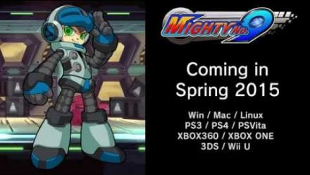 Mighty No.9 : vidéo de gameplay
