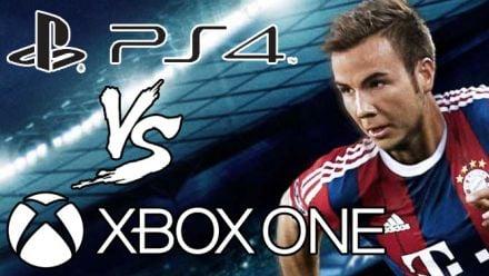 Vid�o : PES 2015 : notre comparo PS4 vs Xbox One