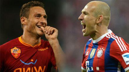vid�o : PES 2015 : notre simulation de Roma - Bayern en Champions League