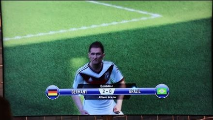 vidéo : PES 2015 Gamescom Gameplay - DEUTSCHLAND vs BRASILIEN Full Match - 60 FPS [HD] - PS4/XboxOne/PC