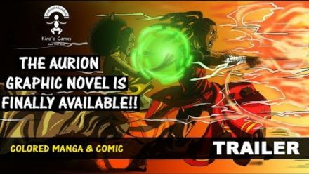 Vidéo : Aurion : Trailer du Graphic Novel Volume 1