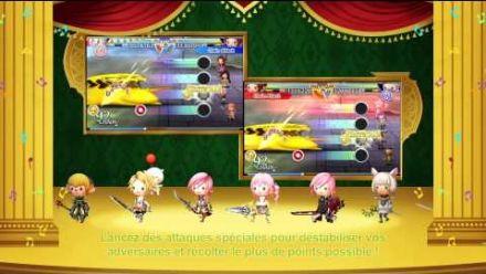 Vid�o : Thearthythm Final Fantasy : Curtain Call - Bande Annonce FR