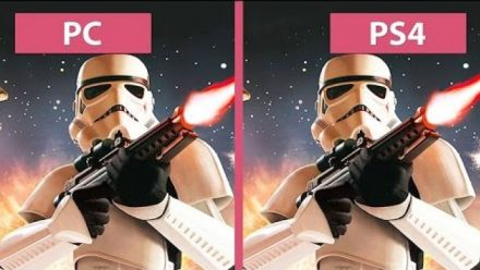 Star Wars: Battlefront - PC Ultra vs. PS4 - comparatif