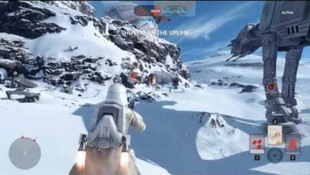 Star Wars Battlefront : 10 minutes Version Alpha en vidéo
