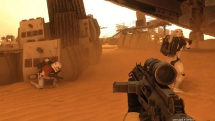 Star Wars Battlefront Bataille sur Tatooine