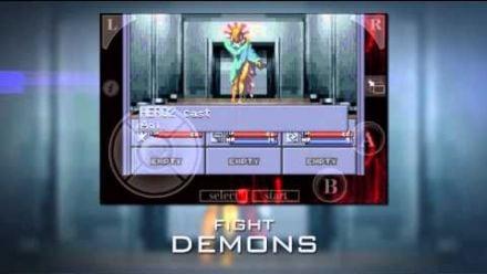 Vid�o : Shin Megami Tensei iOS