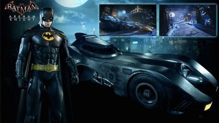 Vidéo : Batman Arkham Knight : 1989 Movie Batmobile Pack