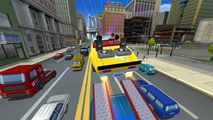 Vid�o : Craxy Taxi City Rush : Vidéo de Gameplay (Downtown District - Mission 7)